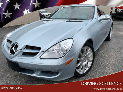 2007 Mercedes-Benz SLK for sale at Driving Xcellence in Jeffersonville IN