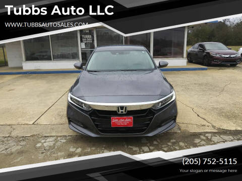 2019 Honda Accord for sale at Tubbs Auto LLC in Tuscaloosa AL