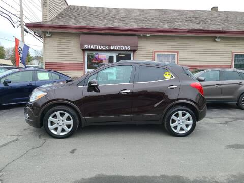 2015 Buick Encore for sale at Shattuck Motors in Newport VT