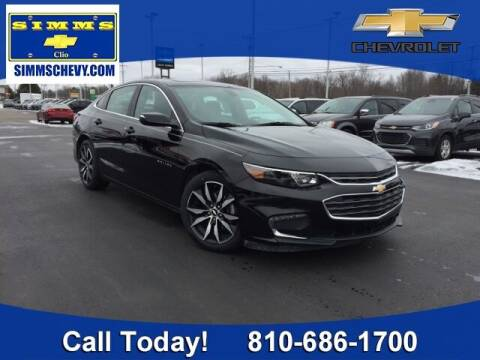 2018 Chevrolet Malibu for sale at Aaron Adams @ Simms Chevrolet in Clio MI