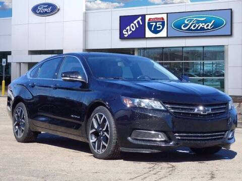2017 Chevrolet Impala for sale at Szott Ford in Holly MI