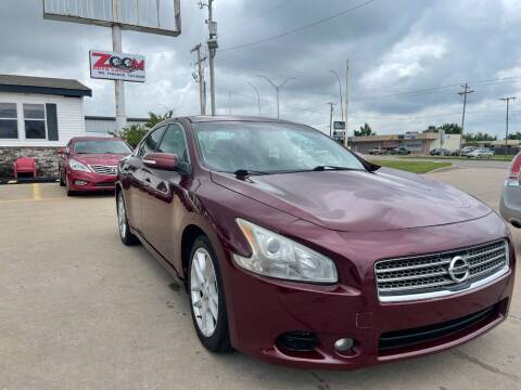 2010 Nissan Maxima for sale at Zoom Auto Sales in Oklahoma City OK