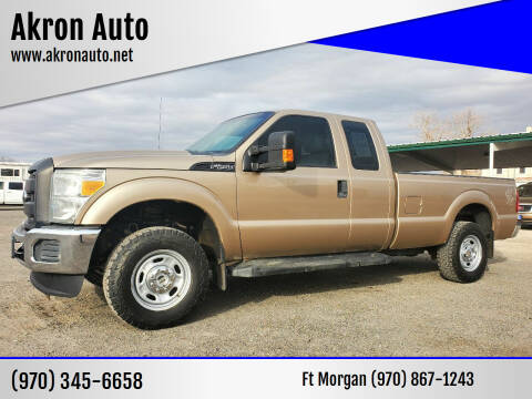 2013 Ford F-250 Super Duty for sale at Akron Auto in Akron CO