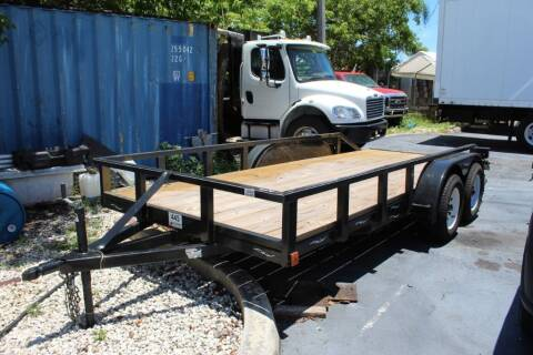2020 TOP Line Trailer for sale at Truck and Van Outlet in Miami FL