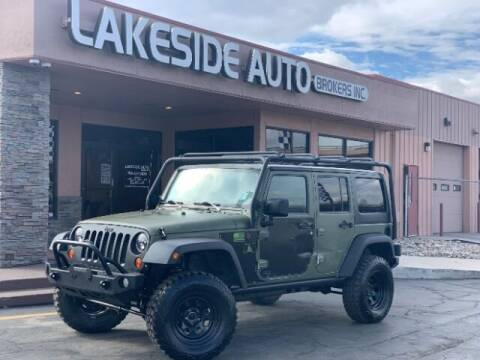 2012 Jeep Wrangler Unlimited for sale at Lakeside Auto Brokers in Colorado Springs CO
