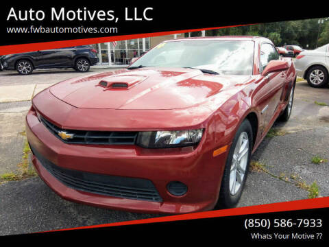 2014 Chevrolet Camaro for sale at Auto Motives, LLC in Fort Walton Beach FL