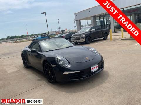 2013 Porsche 911 for sale at Meador Dodge Chrysler Jeep RAM in Fort Worth TX