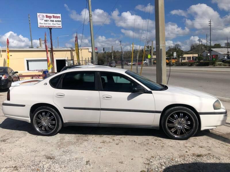 2004 Chevrolet Impala for sale at Mego Motors in Orlando FL
