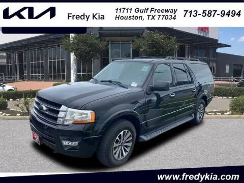 2015 Ford Expedition EL for sale at FREDY KIA USED CARS in Houston TX