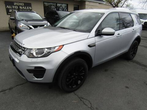 2016 Land Rover Discovery Sport for sale at 2010 Auto Sales in Troy NY
