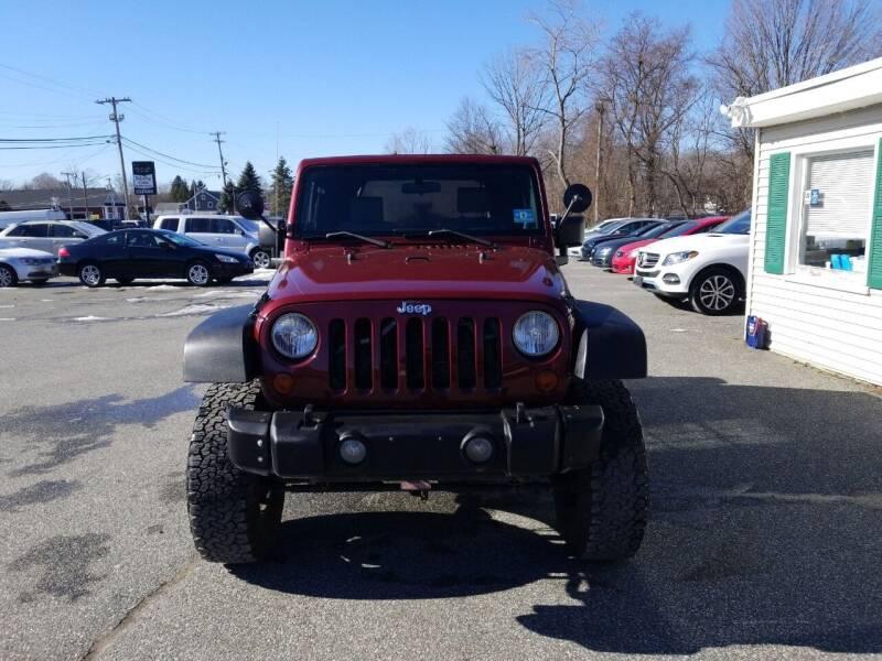 2009 Jeep Wrangler for sale at AutoConnect Motors in Kenvil NJ