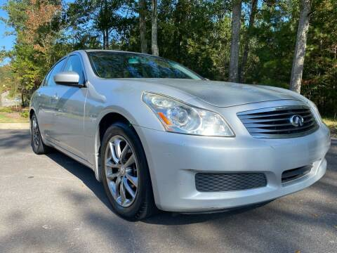 2009 Infiniti G37 Sedan for sale at ELAN AUTOMOTIVE GROUP in Buford GA