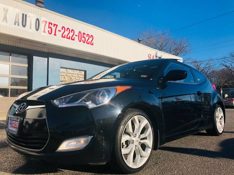 2013 Hyundai Veloster for sale at Trimax Auto Group in Norfolk VA
