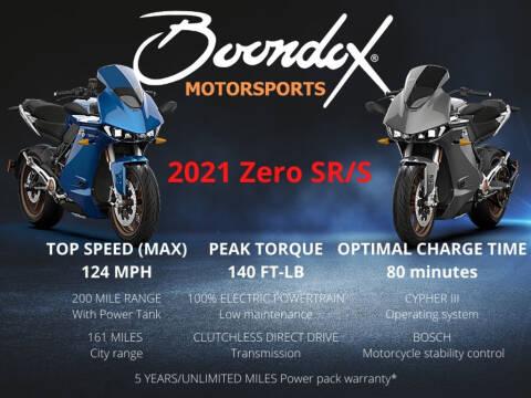 2021 Zero SR/S Premium for sale at Boondox Motorsports in Caledonia MI