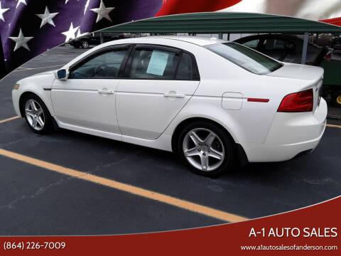 2006 Acura TL for sale at A-1 Auto Sales in Anderson SC
