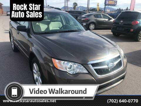 2008 Subaru Outback for sale at Rock Star Auto Sales in Las Vegas NV