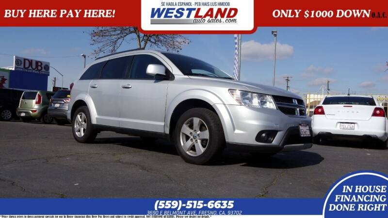 2011 Dodge Journey for sale at Westland Auto Sales on 7th in Fresno CA