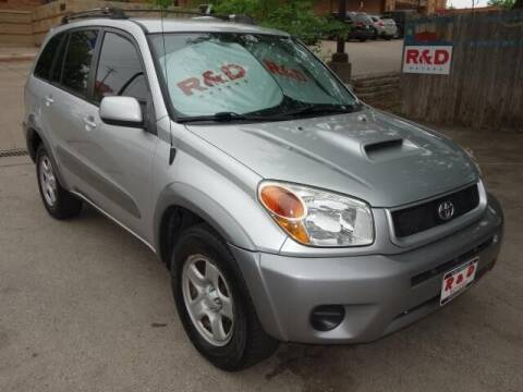 2005 Toyota RAV4 for sale at R & D Motors in Austin TX