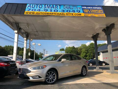 2017 Ford Fusion for sale at Auto Smart Charlotte in Charlotte NC