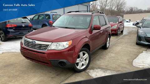 2009 Subaru Forester for sale at Cannon Falls Auto Sales in Cannon Falls MN