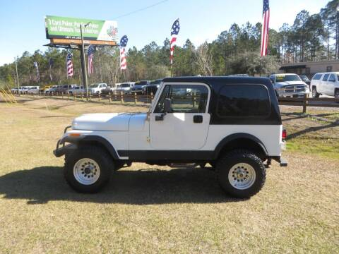 1984 Jeep CJ-7 for sale at Ward's Motorsports in Pensacola FL