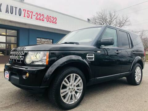 2011 Land Rover LR4 for sale at Trimax Auto Group in Norfolk VA