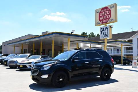 2017 Chevrolet Equinox for sale at Houston Used Auto Sales in Houston TX