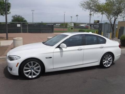 2011 BMW 5 Series for sale at J & E Auto Sales in Phoenix AZ