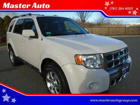 2012 Ford Escape for sale at Master Auto in Revere MA