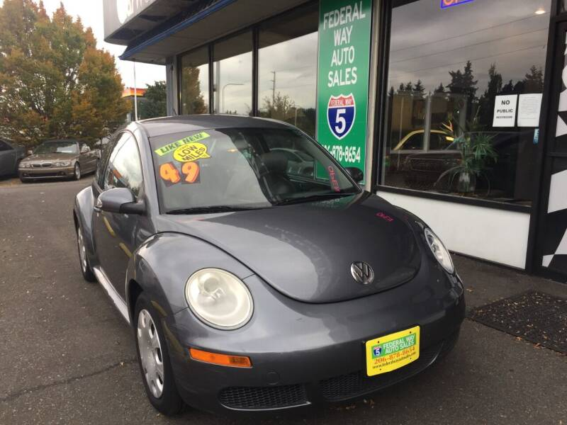 2007 Volkswagen New Beetle for sale at Federal Way Auto Sales in Federal Way WA