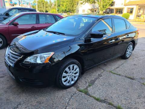 2015 Nissan Sentra for sale at Devaney Auto Sales & Service in East Providence RI