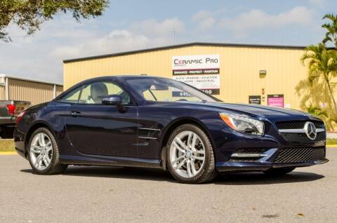 2015 Mercedes-Benz SL-Class for sale at Exquisite Auto in Sarasota FL
