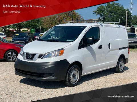 2019 Nissan NV200 for sale at DAB Auto World & Leasing in Wake Forest NC