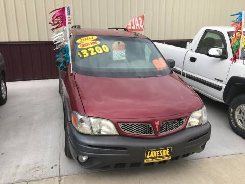 2004 Pontiac Montana for sale at Lakeside Auto & Sports in Garrison ND