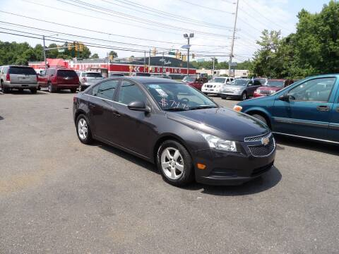 2013 Chevrolet Cruze for sale at United Auto Land in Woodbury NJ