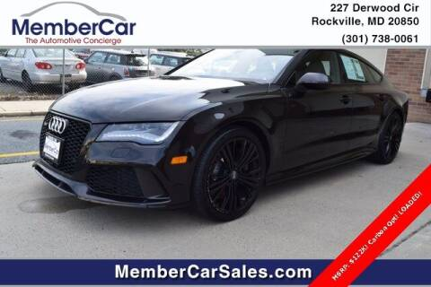 2015 Audi RS 7 for sale at MemberCar in Rockville MD