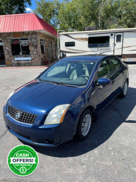 2009 Nissan Sentra for sale at University Auto Sales of Little Rock in Little Rock AR
