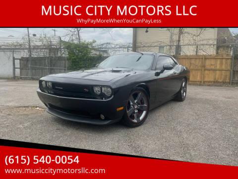 2014 Dodge Challenger for sale at MUSIC CITY MOTORS LLC in Nashville TN