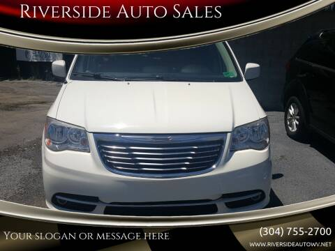 2013 Chrysler Town and Country for sale at Riverside Auto Sales in Saint Albans WV