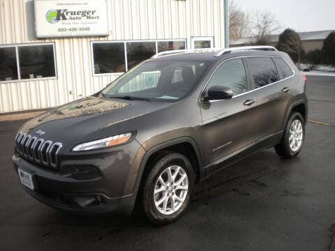 2014 Jeep Cherokee for sale at AUTO MART in Oshkosh WI