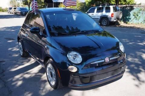 2015 FIAT 500 for sale at SUPER DEAL MOTORS 441 in Hollywood FL