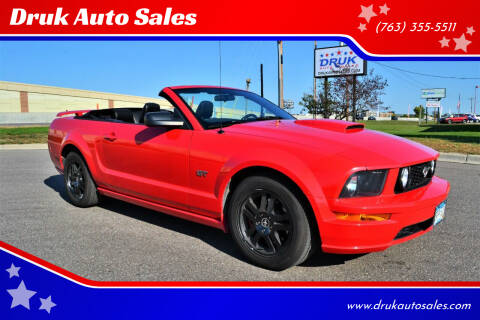 2007 Ford Mustang for sale at Druk Auto Sales in Ramsey MN