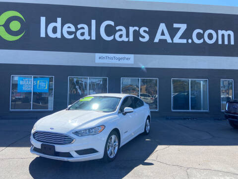 2018 Ford Fusion Hybrid for sale at Ideal Cars in Mesa AZ
