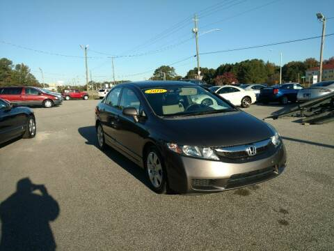 2010 Honda Civic for sale at Kelly & Kelly Supermarket of Cars in Fayetteville NC