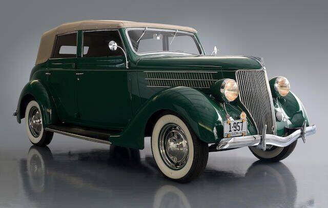 1936 Ford Model 68 Convertible Sedan for sale at Classic Investments in Marietta GA