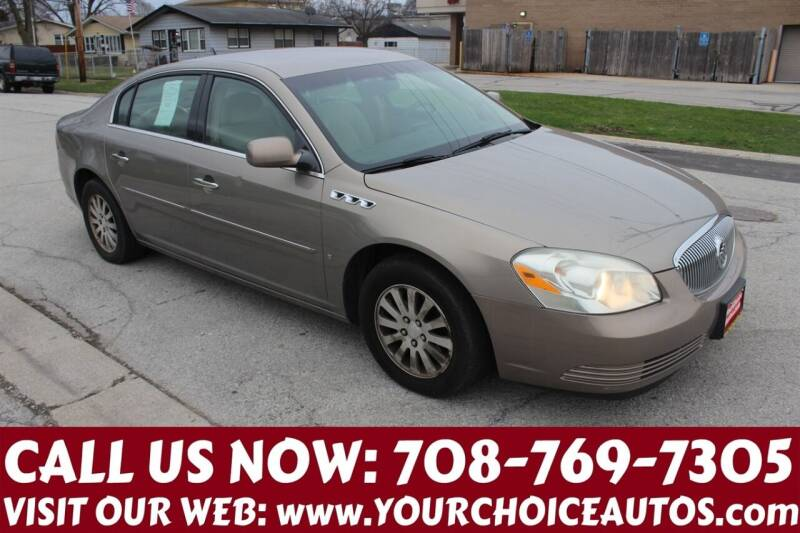 2007 Buick Lucerne for sale at Your Choice Autos in Posen IL