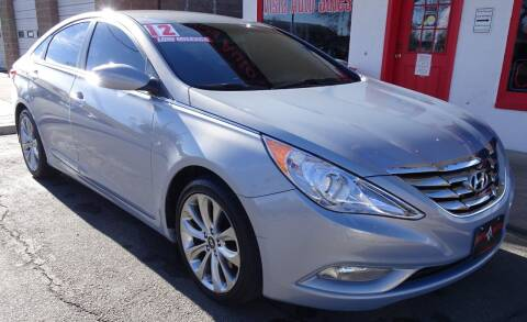 2012 Hyundai Sonata for sale at VISTA AUTO SALES in Longmont CO