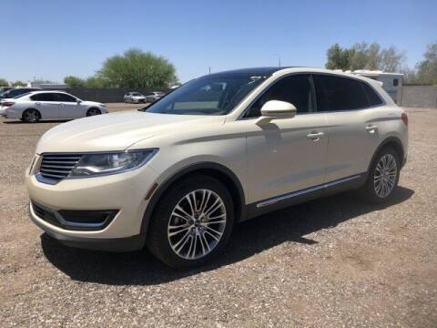 2016 Lincoln MKX for sale at Autos by Jeff in Peoria AZ