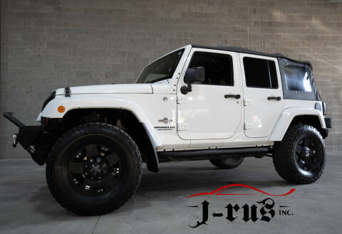 2013 Jeep Wrangler Unlimited for sale at J-Rus Inc. in Macomb MI