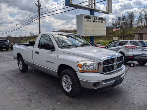 2006 Dodge Ram Pickup 1500 for sale at Route 22 Autos in Zanesville OH
